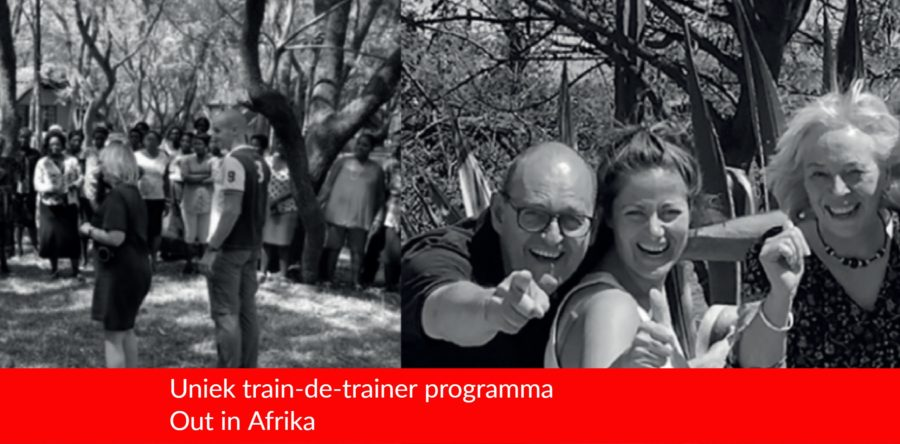 Uniek train-de-trainer programma Out in Afrika – Personal development while contributing